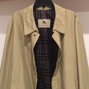 Burberry London rain coat size XXL